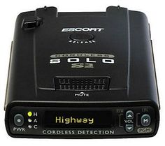 Escort Solo S3 Windshield Radar Detector
