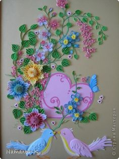 Beautiful quilling !