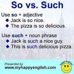 so vs. such