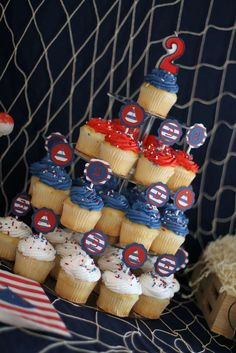Nautical Birthday Party Ideas | Photo 6 of 16 | Catch My Party