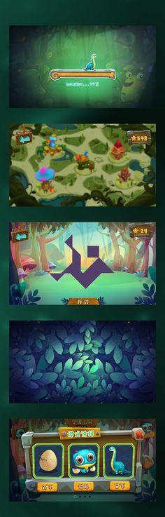 儿童游戏(七巧板) on Behance