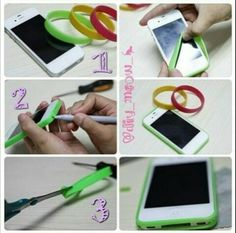 Phone Case...If you can not find a case for your phone if you do this DIY your life will be easier because is so simple and quick Just make sure it is the right size of your phone
