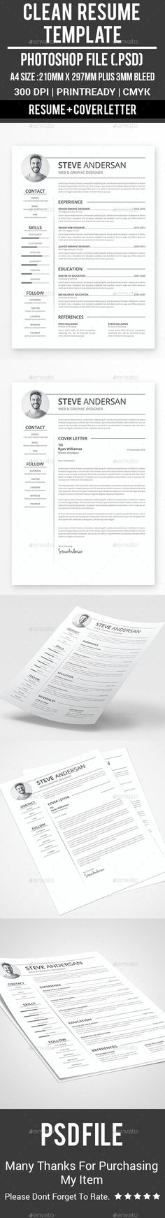 Resume template infographic and adobe yelopaper Images