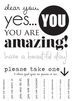 Print this out and put it up all over town! Love this.