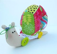 Snail Tilda Homemade Cute Fabric Toy Gift for by sweetshtuchky