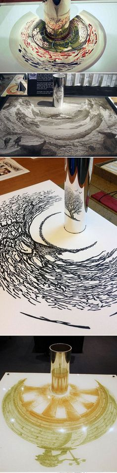 Anamorphic Artworks - Klasse Sache... Hat aber gedauert bis ich das Verstanden habe. Respekt!!!
