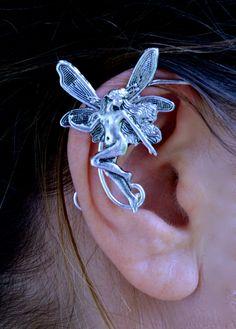 Elf Cuff Fairy - Silver, Renaissance Elf Ears – Hair Twisters
