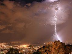 Até na tempestade, o Rio fica bem na foto ...