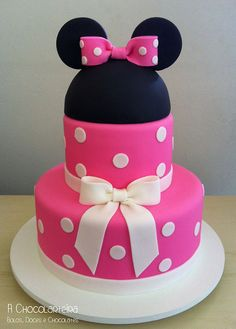Minnie by A CHOCOLARTEIRA, via Flickr
