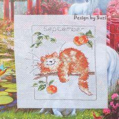 Margaret Sherry: Calendar Cats (September)