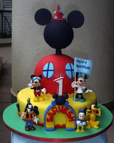Mickey Clubhouse SaCake