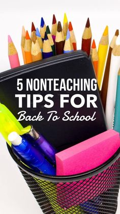 5 Non-Teaching Tips