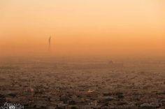 #Doha City under Sand Storm @abdulla_almesleh  TAG your PHOTOS  #Qatarism