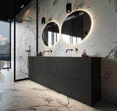 36 Wonderful Black Marble Bathroom Design Ideas Looks Classy - SearcHomee Loft Bathroom, Dream Bathrooms, Bathroom Fixtures, Small Bathroom, Bathroom Ideas, Black Marble Bathroom, Counter Top Sink Bathroom, Bathtub Remodel, Vanity Design