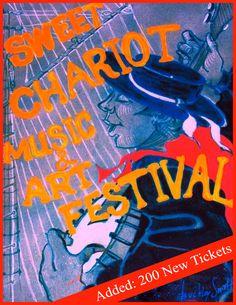 Banner Poster Sweet Chariot Music Festival