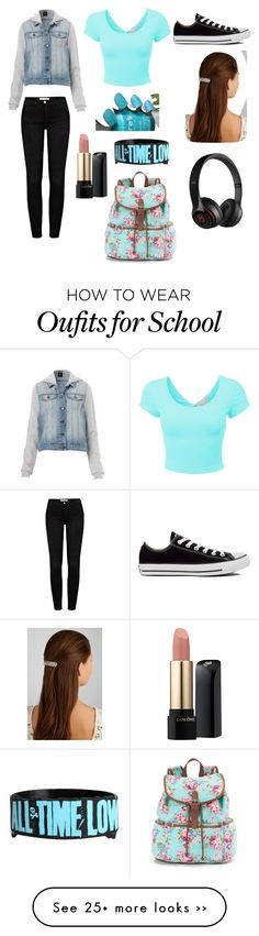 """School"" by rapunzelrockstar on Polyvore"