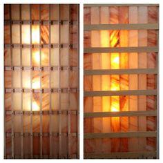 Himalayan Salt Wall Light, Salt wall light, 84 minerals salt light,