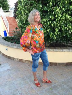 Ellen's Sewing Passion: Seventies Style Blouse