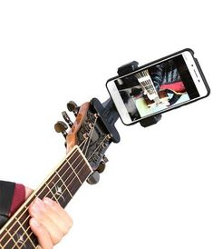 Gopro Action, Phone Clip, Unique Guitars, Great Videos, Cool Guitar, Best Camera, Camera Accessories, Digital Camera, Music Videos