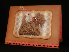 Re-cycle a free carpet sample from your DIY warehouse store to create a fun handmade card. Carpet Samples, So Creative, Decorating Your Home, Warehouse, Card Ideas, Recycling, Crafty, My Favorite Things, Cool Stuff