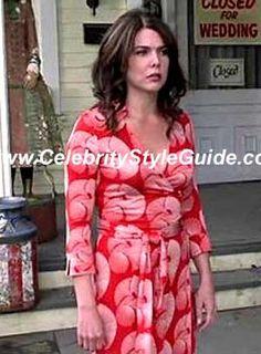 Diane von Furstenberg / Justin Wrap Dress in Sundial / 2006 / Season 6