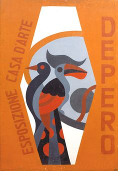 In the fall of 1919 the eclectic futurist artist Fortunato Depero founded the Casa d'Arte Futurista , . Art Deco Posters, Futurism Art, Vintage Italian Posters, Matchbox Art, Graphic Arts Illustration, Art Deco Illustration, Illustration Art, Modern Poster, Design Art