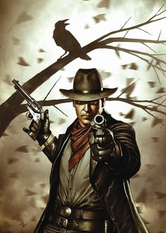 Dark Tower | Roland | Graphic Novel art my dream job is to deal with art and have a successful graphic novel
