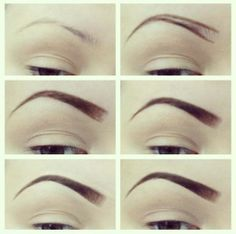 To determine where the eyebrow should end, angle the pencil further so that it touches the outermost edge of your nose and also passes along the outermost edge of your eye. This will show you where the eyebrow should end. Again, mark the spot with an eyebrow pencil and do the same for the other eye.