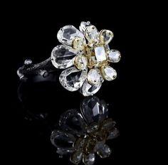 High Jewelry, Stone Jewelry, Diamond Jewelry, Jewelry Box, Jewelry Rings, Jewelery, Vintage Jewelry, Stone Ring Design, Rose Cut Diamond