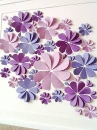 Image result for paper flower wall