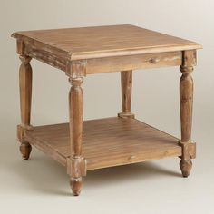 One of my favorite discoveries at WorldMarket.com: Everett End Table