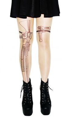 Love these gun tights.