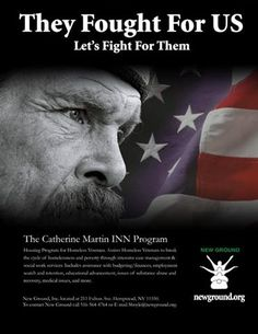 Make a stand for our Homeless VETERANS