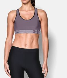 f71a20c98e Shop Under Armour for Women s Armour® Mid Sports Bra in our Womens Tops  department.
