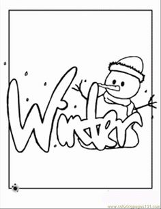 winter coloring page coloring page free winter sports coloring pages