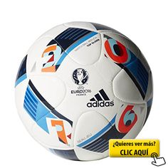 adidas Performance Euro 16 Top Glider Soccer Ball White Bright Blue Night  Indigo 5     Inspect this outstanding item by mosting likely to the link at  the ... 09fd1744f7878