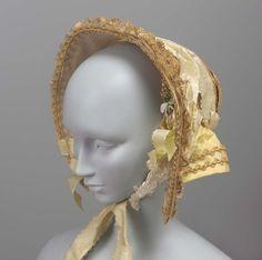 Bonnet1840sThe Museum of Fine Arts, Boston