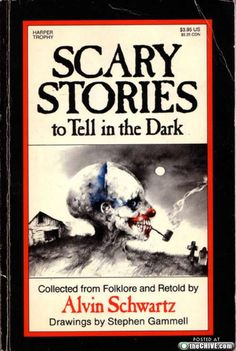 Anyone else remember this book? we used to read these when we would camp out in the backyard at my grandparents