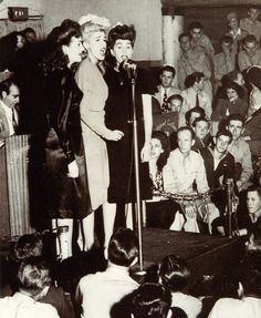 Andrews Sisters- wish mine were down to sing a trio like these lovely ladies