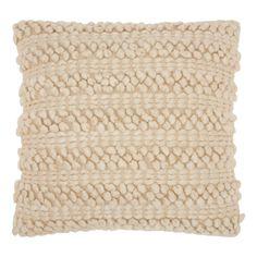 Mina Victory by Nourison Lifestyle Woven Stripes Decorative Throw Pillow, Beige White Throws, White Throw Pillows, Modern Throw Pillows, Decorative Throw Pillows, Accent Pillows, Blue Pillows, Floor Pillows, Jute Fabric, Pillow Reviews