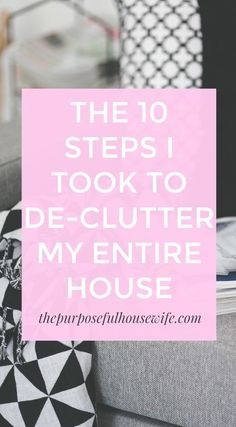 how to de-clutter implement minimalism go minimal minimalist your house