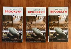 Secret Brooklyn: An Unusual Guide Authors Featured on Podcast Read Learn Live | Untapped Cities