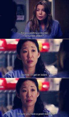 Christina and Meredith <3