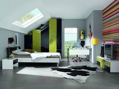 COLOURS 5 - Transforming your bedroom into a blaze of colour is easy with the exciting new Colours 5 Collection. With a stunning choice of 10 high gloss and 3 wood finishes, all of which can be mixed and matched and all with a matte alpine white carcass, you can create a striking effect.