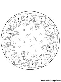 coloring page Mandala Christmas on Kids-n-Fun. Coloring pages of Mandala Christmas on Kids-n-Fun. More than coloring pages. At Kids-n-Fun you will always find the nicest coloring pages first! Cool Coloring Pages, Mandala Coloring Pages, Coloring Sheets, Coloring Books, Free Christmas Coloring Pages, Christmas Colors, Christmas Crafts, Christmas Ornaments, Christmas Design