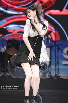Extended Play, Hyun Young, Soyeon, Soo Jin, Stage Outfits, Girl Group, My Girl, Idol, Ballet Skirt