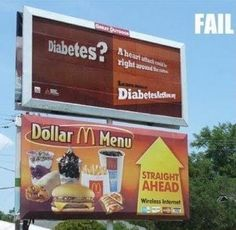Cause and effect? | 30 Truly Unfortunate Advertising Fails