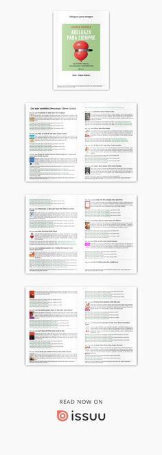 Descargar libro gratis adelgaza para siempre (pdf epub mobi} por ángela quintas