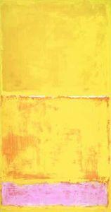 N ° 16 - (Mark Rothko ➡ jolie toile jaune  acidulée  #ToileduMardi #Art