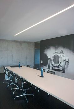 office space/showroom design by Govaert & Vanhoutte for Mercedes in Roeselare, Belgium.